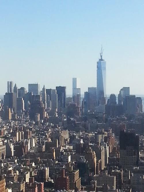The real view from Polycom's NYC Experience Center, no telepresence needed.
