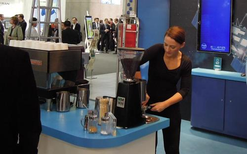 The alcoholic excesses of trade shows past are long gone -- but you can still get a great cup of coffee from Daisy Rollo, Light Reading's official caffeine supplier, on the Spirent stand at Mobile World Congress.