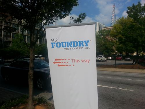 AT&T promises innovation round the corner with its latest foundry-cum-ideas incubator.