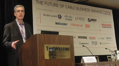 Future of Cable Business Services chair and Light Reading Cable & Video practice leader Alan Breznick tells his audience about the sector's stellar growth.
