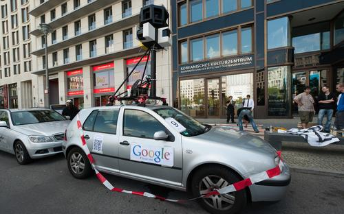 In Germany, Google's Street View cars received a rapturous welcome wherever they went.