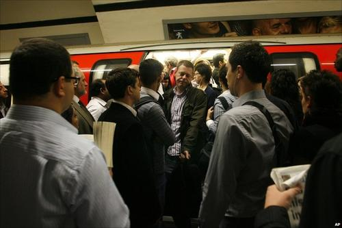 The London Underground: Bringing people together.