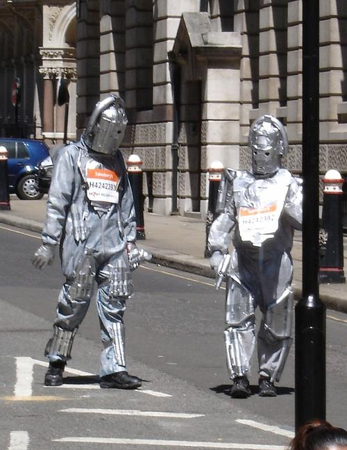 Two cybermen yesterday. Now BT's got one.