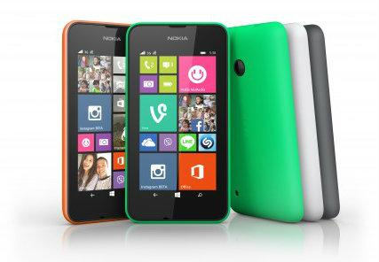 Microsoft's Lumia 530 will sell for around  euro 85.