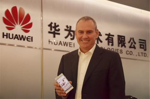 Huawei's Colin Giles is bringing all his know-how from his Nokia days to the Chinese vendor's smartphone business. (Picture courtesy of Huawei.)