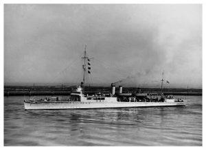 The USS Manley, ADP-1 (DD-74). My father-in-law, Aaron Cruise, served on this converted 'four-stacker' destroyer in the Pacific theater.