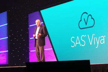 Dr. Jim Goodnight addresses SAS Global Forum