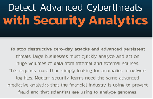 Detect Advanced Cyberthreats with Security Analytics