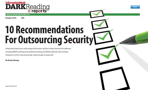 10 Recommendations for Outsourcing Security