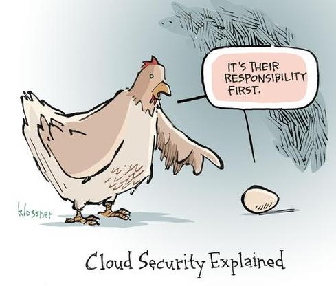 Cartoon: Cloud Conundrum