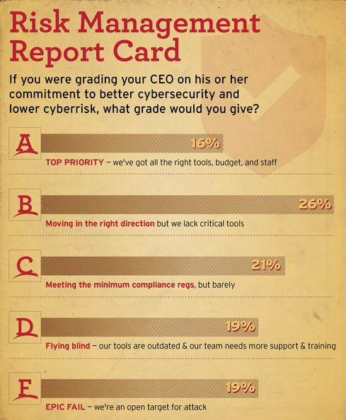 CEO Report Card: Low Grades for Risk Management