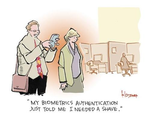 Cartoon: Infosec Multitasking