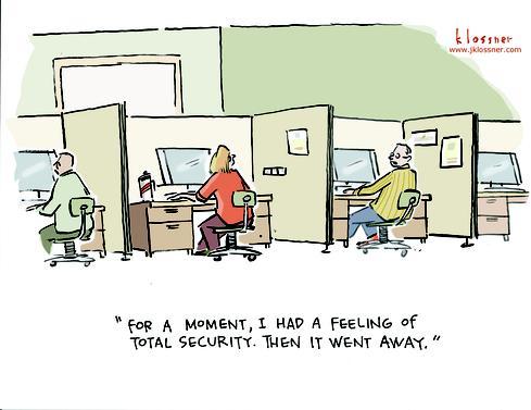 Cartoon: Security Moment Of Zen