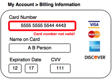 Image Source: DataVisor An example of a credit card 'oracle' test.
