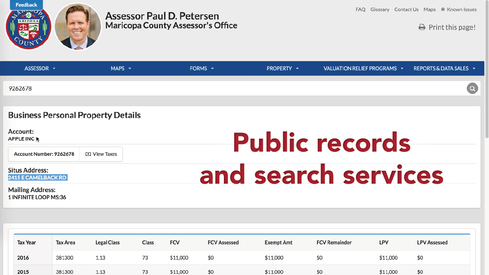 Source: State/County Public Records</p>