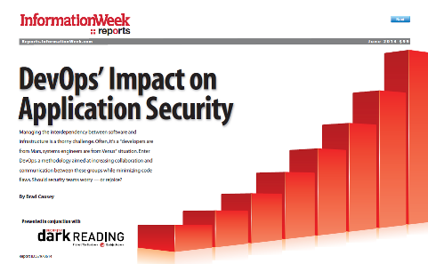 DevOps� Impact on Application Security