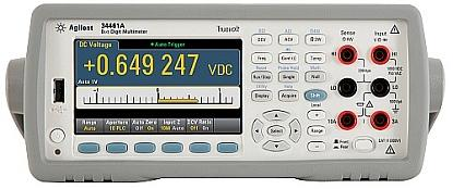 Agilent's 34461A digital multimeter is billed as the replacement for the 34401A.