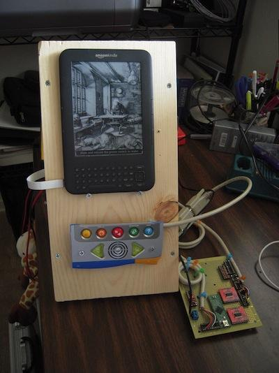 Gadget Freak Case #202: Frankenkindle -- An Easier-to-Use Kindle Modifying a Kindle enables a woman with cerebral palsy to control the e-reader easily.