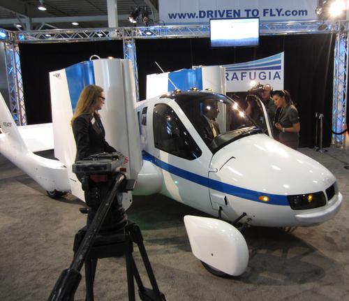 It's a car... It's an airplane... It's Terrafugia's 'Transition,' billed as 'the roadable light sport aircraft. According to the company's site, 'The Transition combines the unique convenience of being able to fold its wings with the ability to drive on any road service in a modern personal airplane platform.