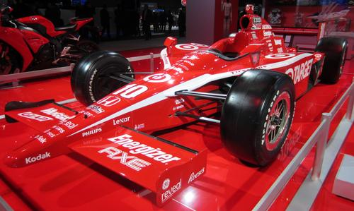Honda's Indy Grand Prix car. This chassis first raced in 2006 and won the Toronto Indy in 2009.