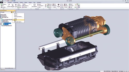 PTC's Creo AnyData Adoption enables users to incorporate data from any CAD system.  Source: PTC