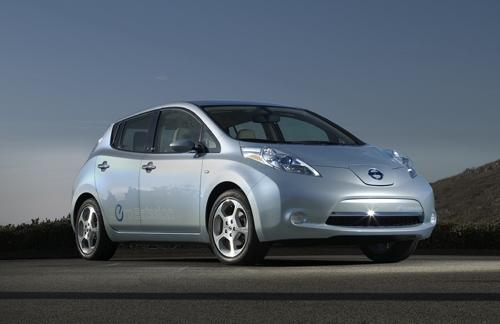 Nissan's Leaf would fulfill the requirements of California's proposed plan. 