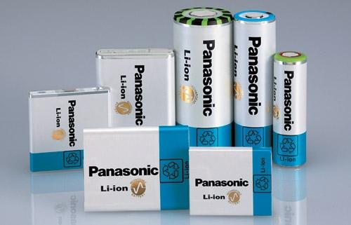 Panasonic's NCR18650A lithium-ion batteries have a capacity of 3.1A-hr.  Source: Panasonic