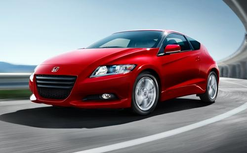 The Honda CR-Z, rated 37 mpg highway, is the EPA's highest-mileage gas-engine car.