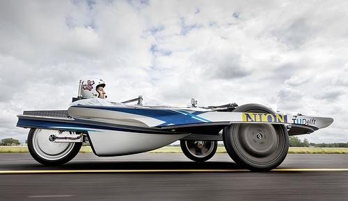 The Nuna is targeting a first place finish in the 2011 World Solar Challenge in Australia in October.  Source: Nuon Solar Team.