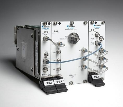 National Instruments' new NI PXIe-5665 14GHz radio-frequency signal analyzer.