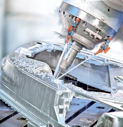 The Sinumerik automation system integrates technology for three- and five-axis machine tools.