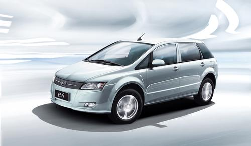 BYD's e6 electric vehicle will use a massive 72kWh battery.