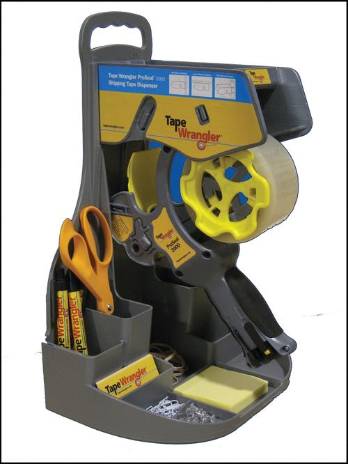 Tape Wrangler used 3D printers to rapidly produce a private label prototype of its tape-dispensing equipment.