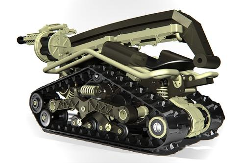 BPG Werks is using SolidWorks tools to create the Shredder, a one-of-a-kind, extreme off-road vehicle.
