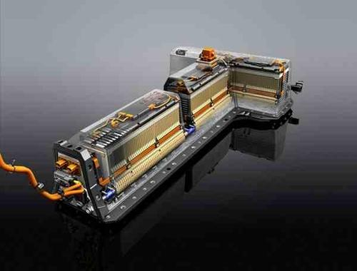 LG Chem, which makes the Chevy Volt battery shown here, is said to be well positioned for survival.  (Photo courtesy of GM)