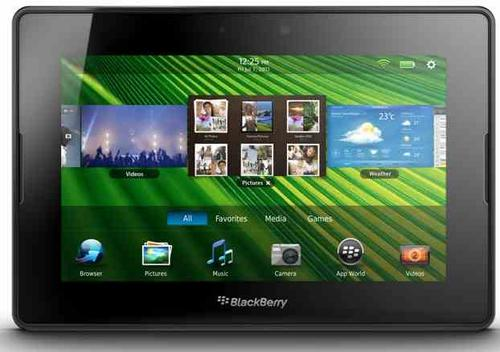 The PlayBook is the first tablet from the smartphone maker BlackBerry (Source: RIM.)