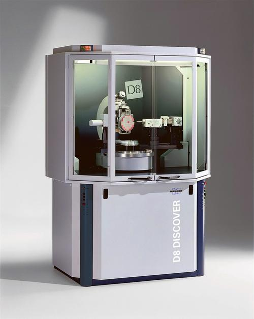 D8 Discover with GADDS, an analytical diffractometer built by Bruker AXS, utilizes Forest City Gear's brass worm gear sets.