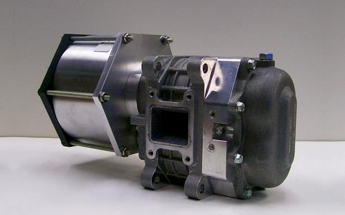 Custom e-Cycle motor with Ogura TX-02 Supercharger.