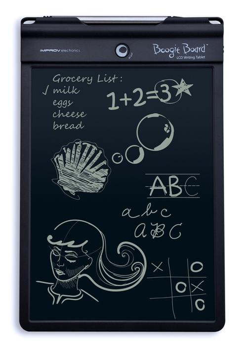 The Boogie Board Writing Tablet 10.5 from Improv Electronics.