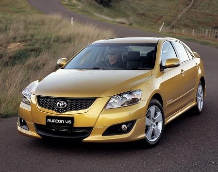 The Toyota Aurion, sold in Australia and parts of Asia, is very much like the Camry.