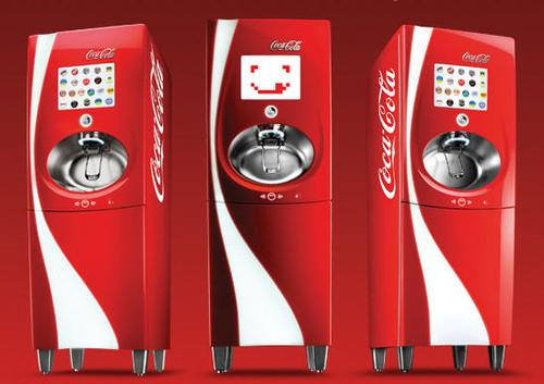 Coca-Cola Freestyle self-serve soda machines will customize your drink.