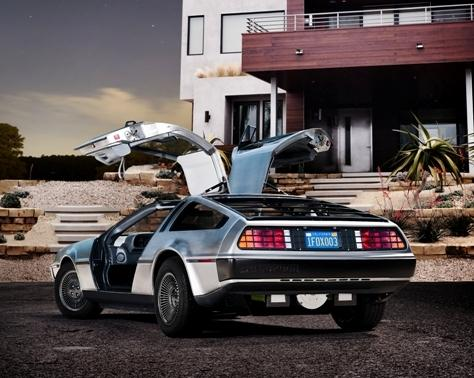 DeLorean's 'new' EV maintains the look of the legendary vehicle from the movie, Back to the Future.   (Photo courtesy of the DeLorean Motor Co.)