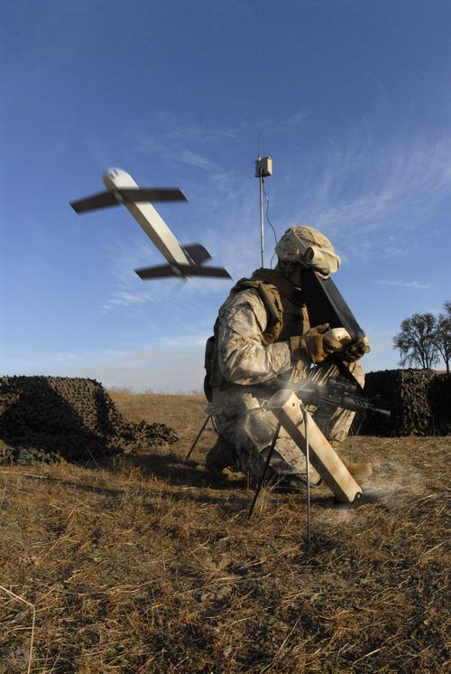 The Switchblade 'kamikaze' reconnaissance drone, one of the smallest used by Army and Air Force special ops forces in Afghanistan, is still larger at 24 inches than the 16-inch flying sphere from the Japanese Ministry of Defense.   (Source: AeroVironment, Inc.)
