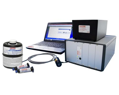 A simple and immediate in-line process, the Loctite AssureCure Systemincludes a new adhesive technology, a fiber optic light source, a light detector unit, and software that ties into the user's existing PC or PLC.