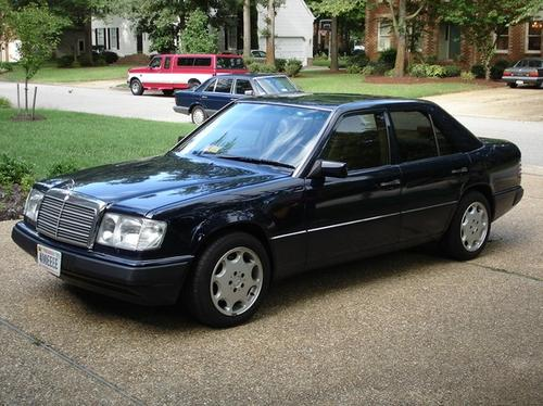 The 1992 Mercedes 400E looks great, but watch out for the wiring insulation.
