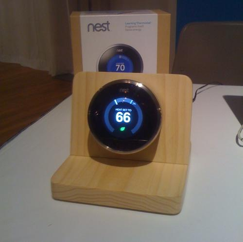The Nest Learning Thermostat learns your preferences and adjusts its program accordingly. It also provides a guide to energy savings. It won a CES 'Best of Innovations' award in the eco-design and sustainable technologies category.