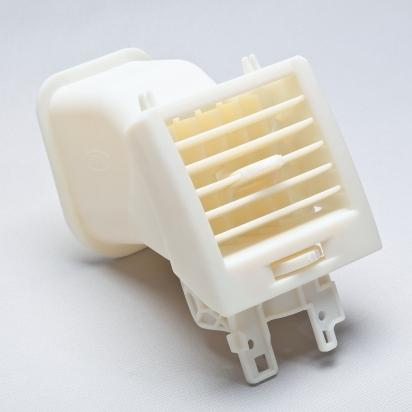Objet's high-temperature RGD525 targets thermal functional testing of models and prototypes, such as this automotive air conditioning vent printed on Connex500 and Eden500V 3D printers.