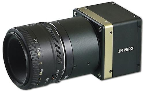 Inspection in aerospace manufacturing sometimes requires very small, very high-resolution video cameras, 