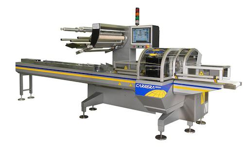 Ilapak's new range of horizontal packaging machines optimizes machine size and performance using an incremental modular design. The system runs on an industrial PC, which offers fast, detailed diagnostic and machine status information using PackML.