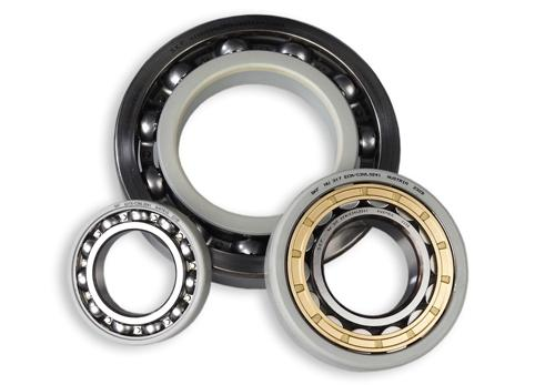 Bearings can have various specialty coatings, including a coating to reduce wear 